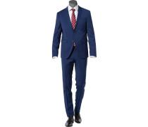 Anzug, Shape Fit, Schurwoll-Stretch klimaregulierend