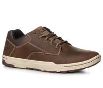 Schuhe Sneaker, Leder, sand