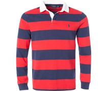 Polo-Shirt, Custom Slim Fit, Baumwoll-Jersey