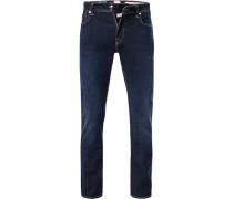 Jeans, Slim Fit, Baumwoll-Stretch, indigo