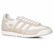 Schuhe Sneaker, Velours-Textil, -beige
