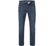 Jeans Ray, Regular Fit, Baumwolle, dunkel