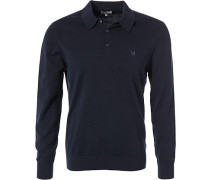 Polo-Shirt, Baumwolle, navy