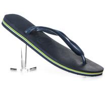 Schuhe Zehensandalen, Gummi, navy