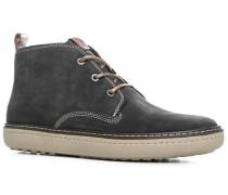 Schuhe Desert Boots, Veloursleder, anthrazit