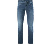 Jeans Hatch, Slim Fit, Baumwolle, dunkel