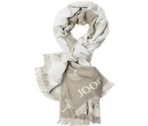 Schal, Modal-Wolle,  gemustert