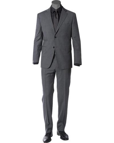 Anzug, Wolle,  meliert