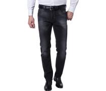 Jeans, Modern Fit, Baumwoll-Stretch