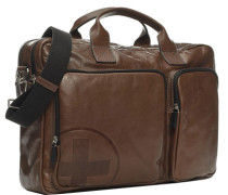 Laptoptasche, Leder