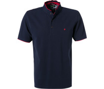 Polo-Shirt, Modern Fit, Baumwoll-Piqué, navy
