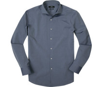 Hemd, Slim Fit, Chambray, jeans