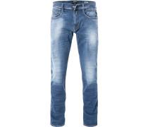 Jeans Anbass, Slim Fit, Baumwoll-Stretch Hyperflex
