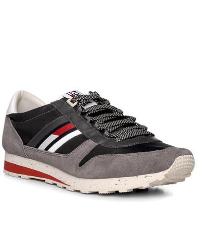 Tommy Hilfiger Herren Schuhe Sneaker, Veloursleder-Textil