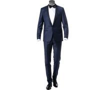 Anzug Smoking, Schurwolle, nacht