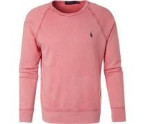 Sweatshirt, Mikrofaser, marsala