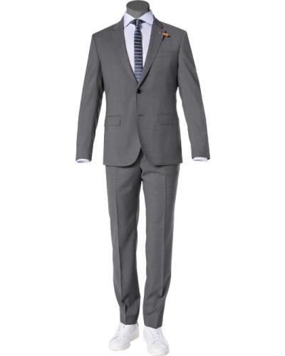 Anzug, Schurwolle,  meliert