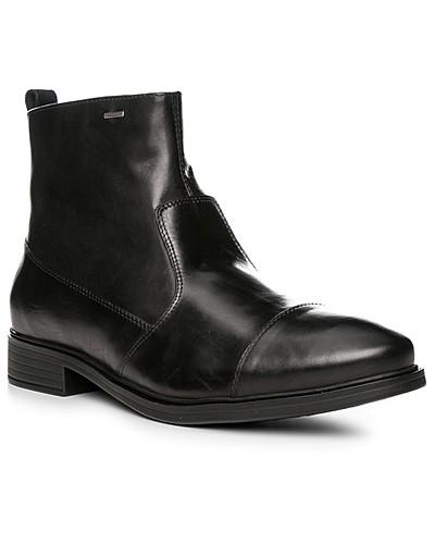 Geox Herren Schuhe Stiefeletten, Leder