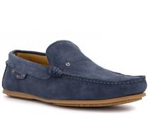 Schuhe Mokassins, Leder wasserabweisend