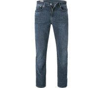 Jeans 502, Regular Taper, Baumwoll-Stretch, tinten