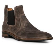 Schuhe Chelsea-Boot Stefan, Kalbleder, dunkel