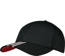 Cap, Baumwolle, -rot