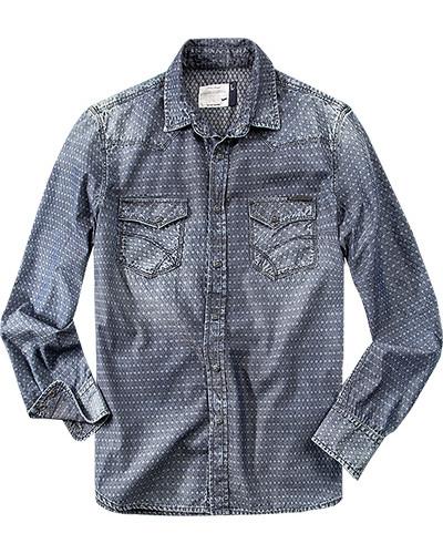 Hemd, Baumwolle, dunkel