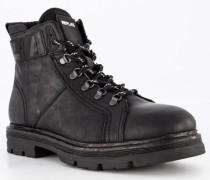 Schuhe Schnürboots, Leder