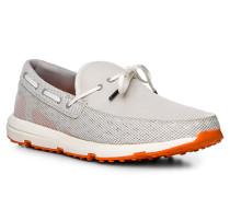 Schuhe Loafer, Kautschuk, hell
