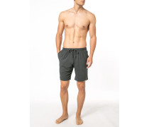 Schlafanzug Shorts, Micromodal, anthrazit meliert