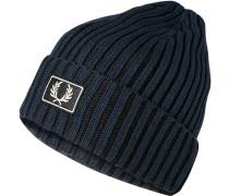 Mütze, Baumwolle, navy