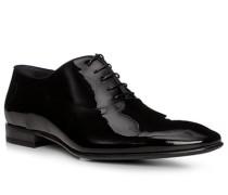 Schuhe Oxford, Lackleder