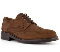 Schuhe Brouge, Leder wasserabweisend, mittel