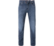 Jeans, Modern Fit, Baumwolle, denim