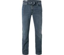Jeans 511, Slim Fit, Baumwoll-Stretch, blau