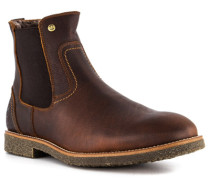 Schuhe Chelsea Boots, Leder Lammfell gefüttert
