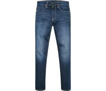 Jeans 502, Regular Tape, Baumwoll-Stretch, denim