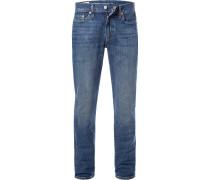 Jeans 511, Slim Fit, Baumwoll-Stretch, mittel