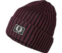 Mütze, Baumwolle, bordeaux
