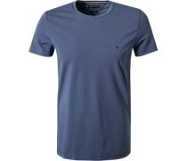 T-Shirt, Slim Fit, Bio-Baumwolle, jeans