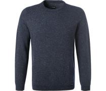 Pullover, Modern Fit, Schurwolle,  gemustert