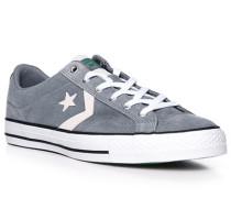 Schuhe Sneaker, Veloursleder, rauch
