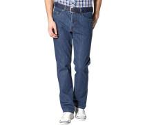 Jeans, Regular Fit, Baumwoll-Stretch, tinten