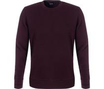 Sweatshirt, Baumwolle, chianti