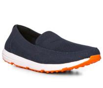 Schuhe Loafer, Textil, navy