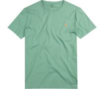T-Shirt, Custom Fit, Baumwolle, lind