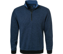 Pullover Troyer, Modern Fit, Baumwolle