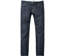 Jeans Regular Fit, Baumwolle 14 oz, indigo