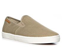 Schuhe Slipper, Textil, hell