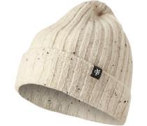 Mütze, Schurwolle, natur